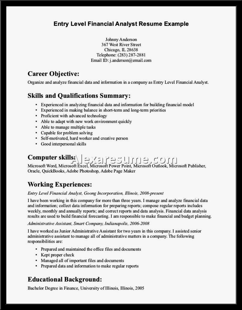 Resume for Entry Level Position Best Of Entry Level Irrigation General Laborer Resume Sample