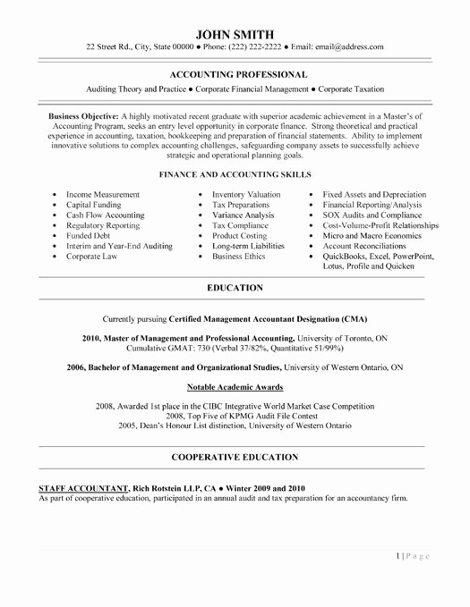 Resume for Entry Level Position New Entry Level Accounting Jobs Resume Sample Best Accounting