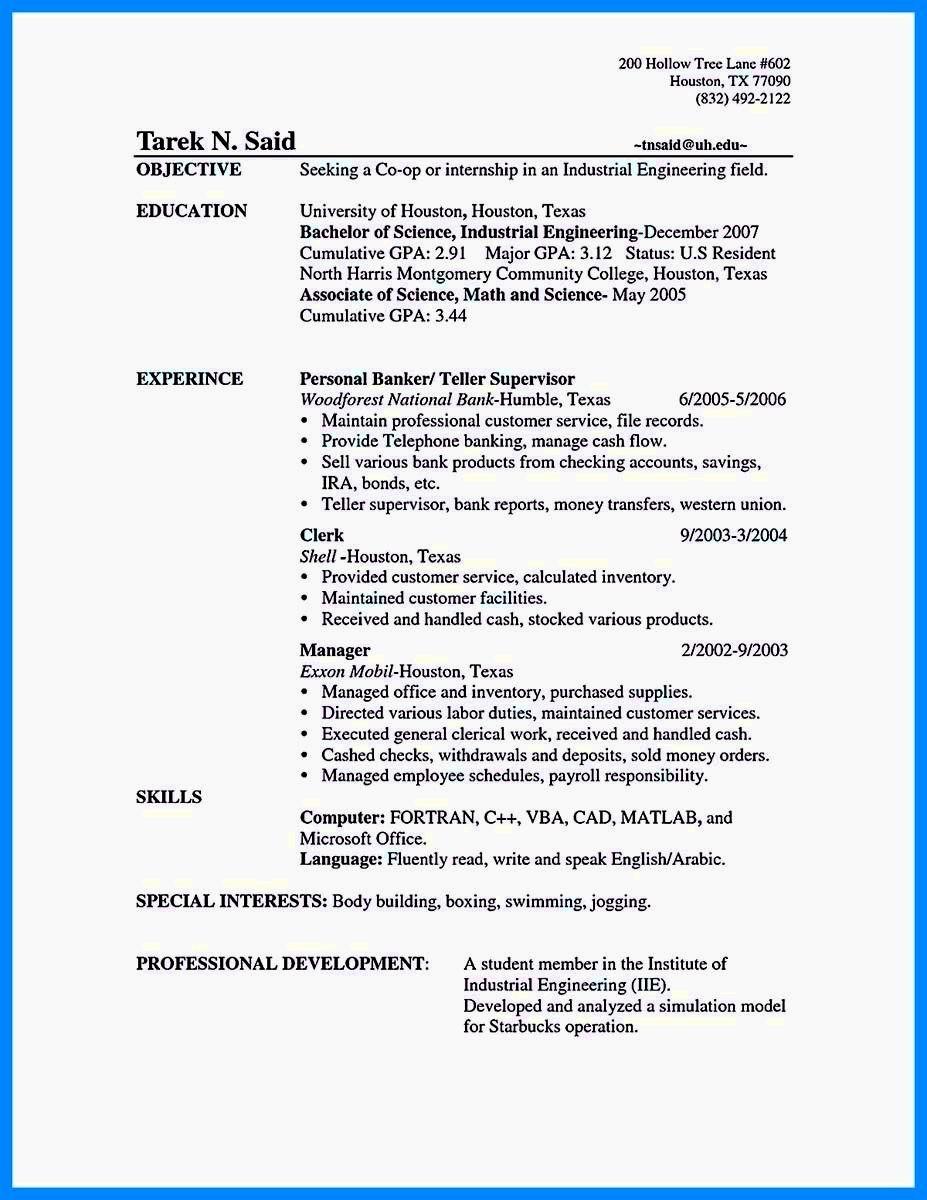 Resume for Entry Level Position Unique Entry Level Bank Teller Resume Resume Template