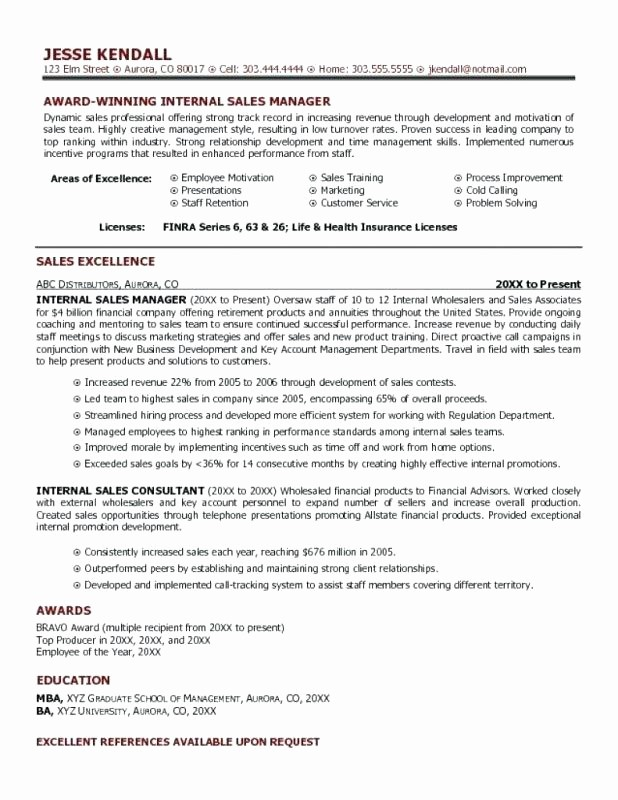 Resume for Internal Promotion Template Awesome Promotion Resume Template for Internal – Foodandme