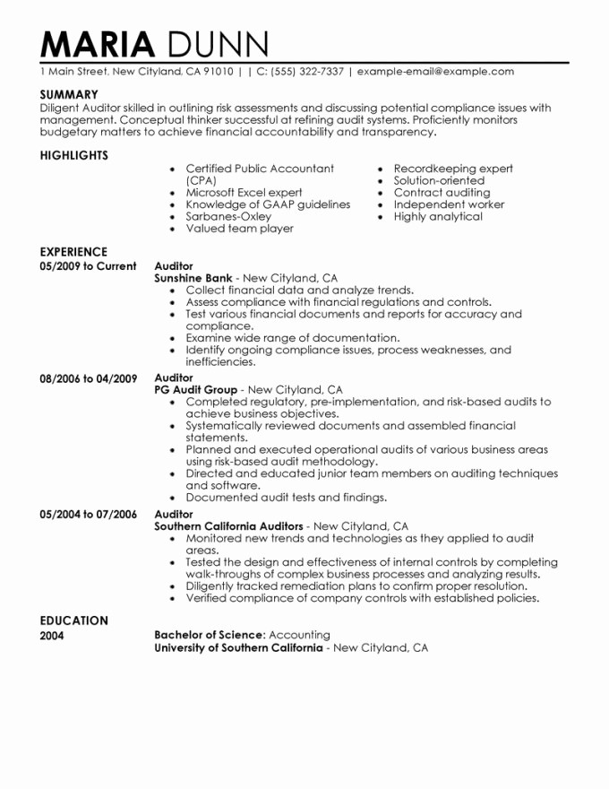 Resume For Internal Promotion Template Beautiful