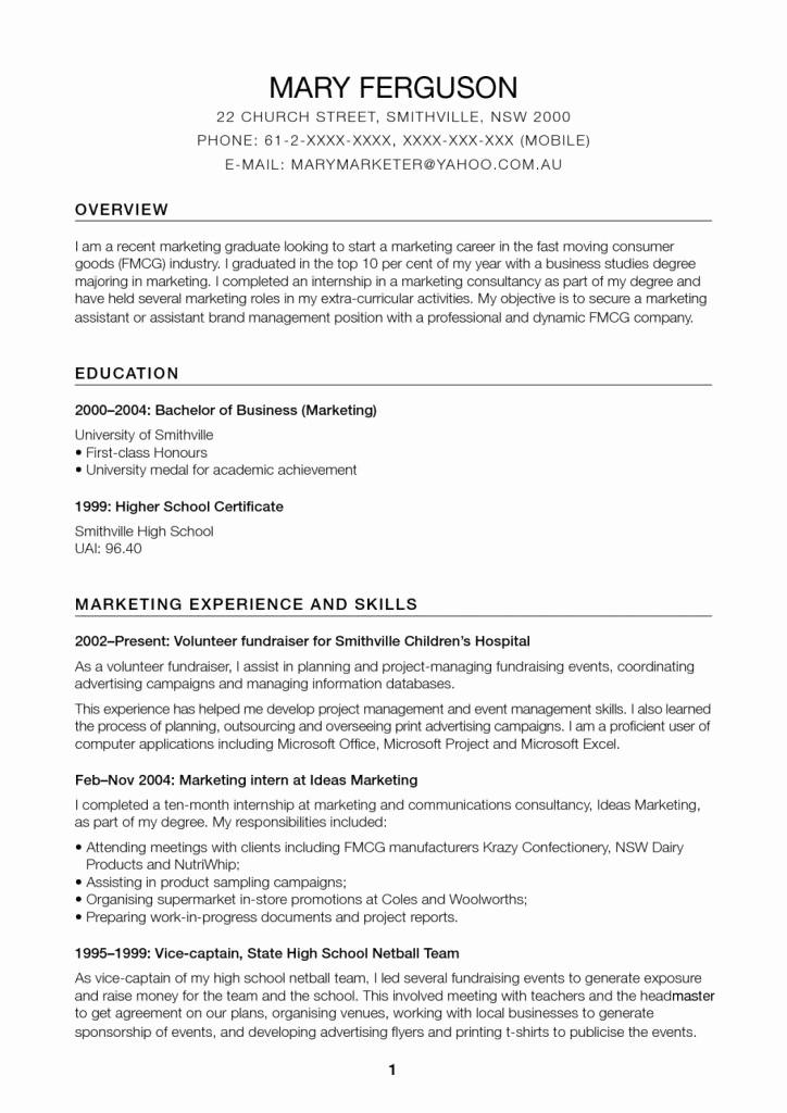 Resume for Internal Promotion Template Elegant Resume for Promo College Resume Template Resume for
