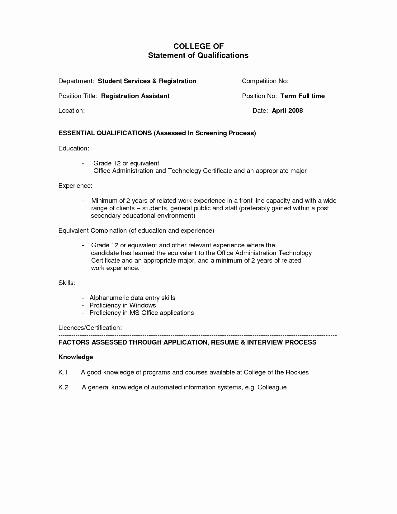 Resume for Internal Promotion Template Lovely Resume for Internal Promotion Resume Ideas