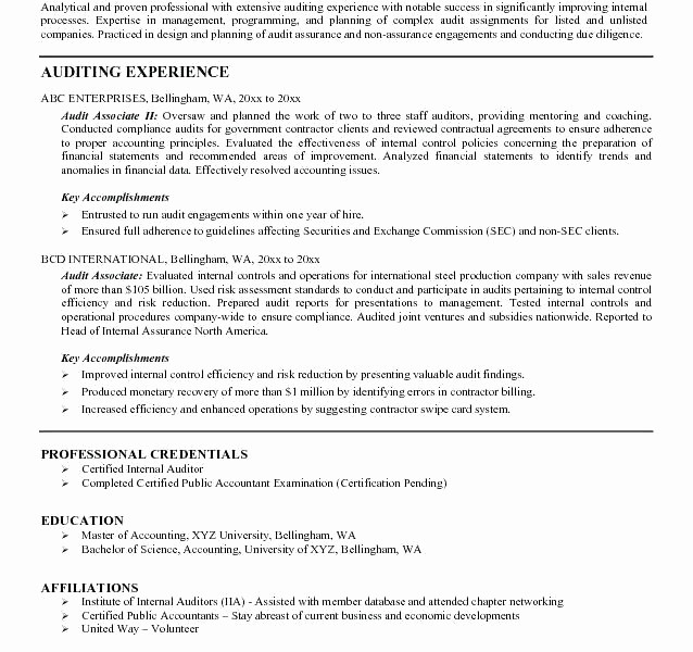 Resume For Internal Promotion Template New Easy