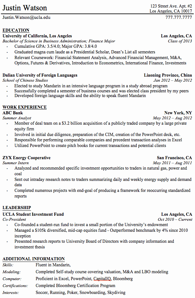 Resume for Recent College Grad New Professional Resume Templates for College Graduates