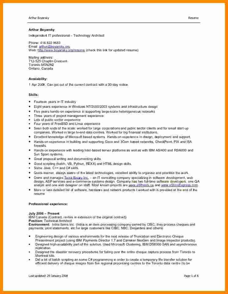 Resume format In Microsoft Word Best Of 5 Cv format Word File