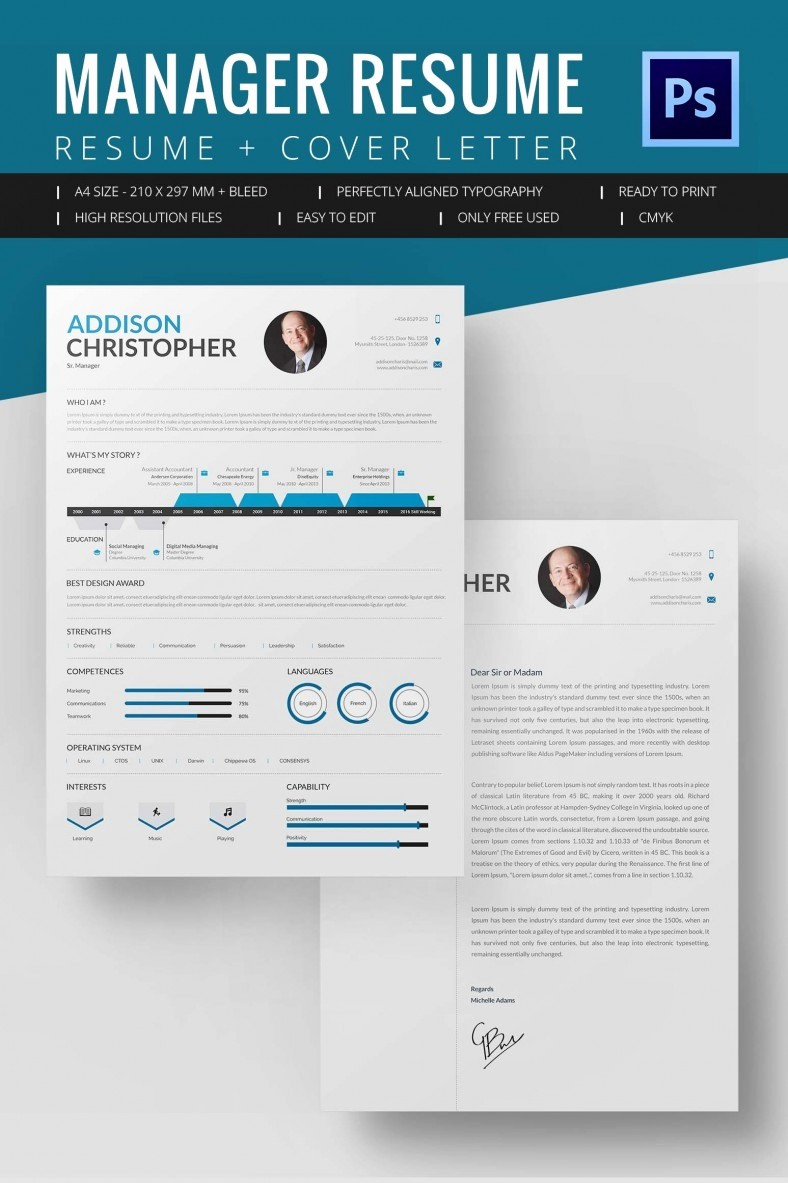 Resume format In Microsoft Word Unique Project Manager Resume Template 10 Free Word Excel