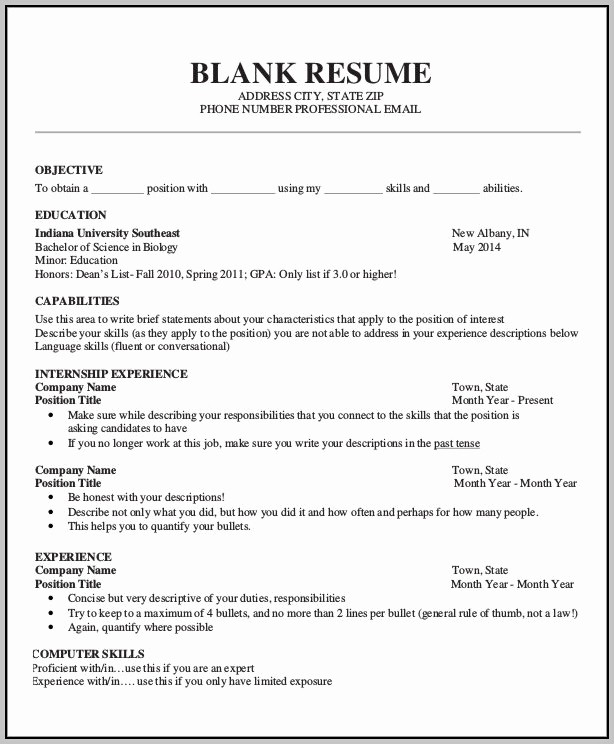 Resume forms to Fill Out Fresh Write Free Resume Blank form Resume Resume Examples