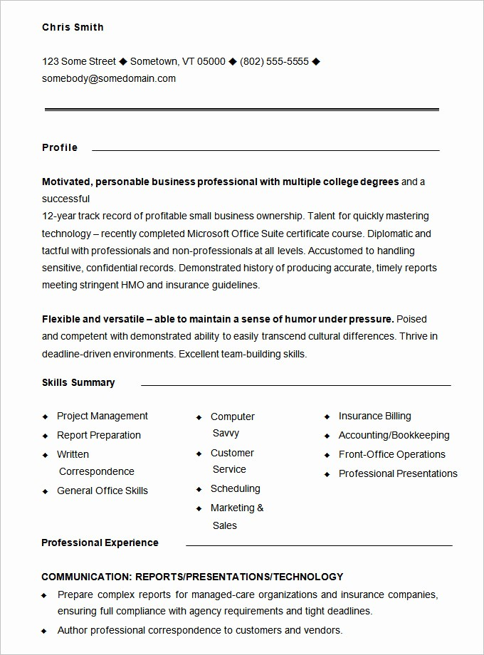 Resume Free Templates to Download New Functional Resume Template – 15 Free Samples Examples