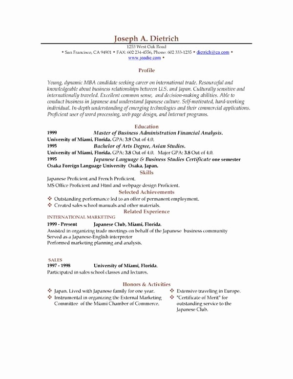 Resume Free Templates to Download Unique 85 Free Resume Templates