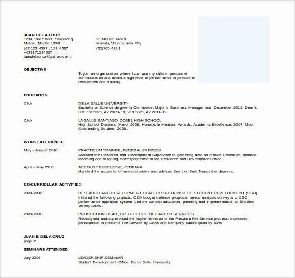 Resume Models In Word format Beautiful 26 Word Professional Resume Template Free Download