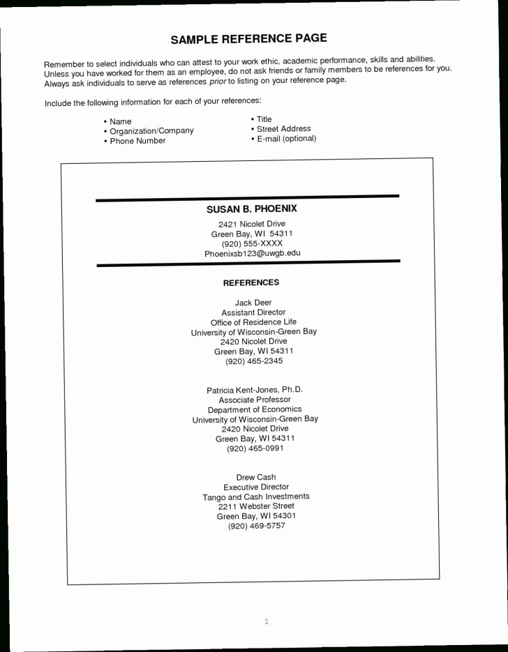 Resume Reference Template Microsoft Word Lovely Resume and Template Resume References Template Free