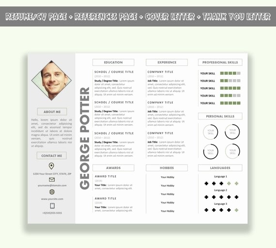 Resume Setup On Microsoft Word Fresh Items Similar to Microsoft Word Horizontal Resume Template