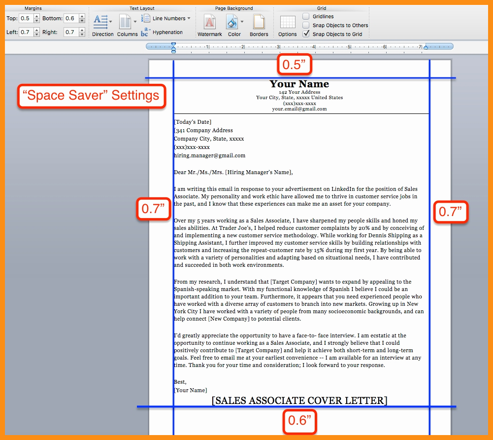 Resume Setup On Microsoft Word Inspirational 10 11 Minimum Margins for Resume