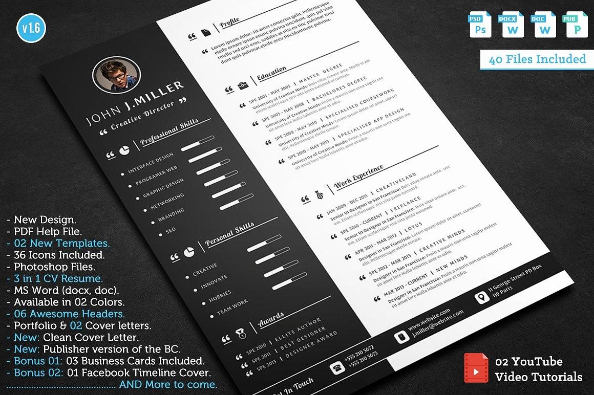 Resume Setup On Microsoft Word Inspirational Get the Job Resume Templates Creative Market
