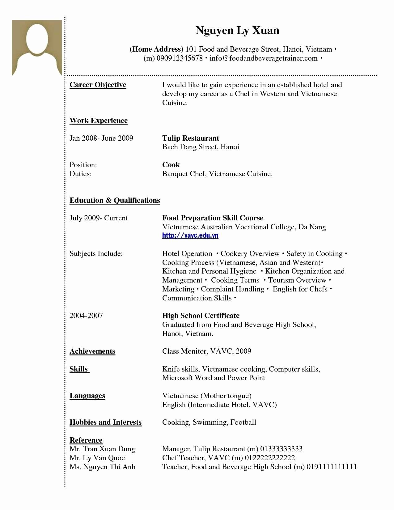 Resume Setup On Microsoft Word Inspirational Resume Setup Example Inspiration Setting Up Resume Setup