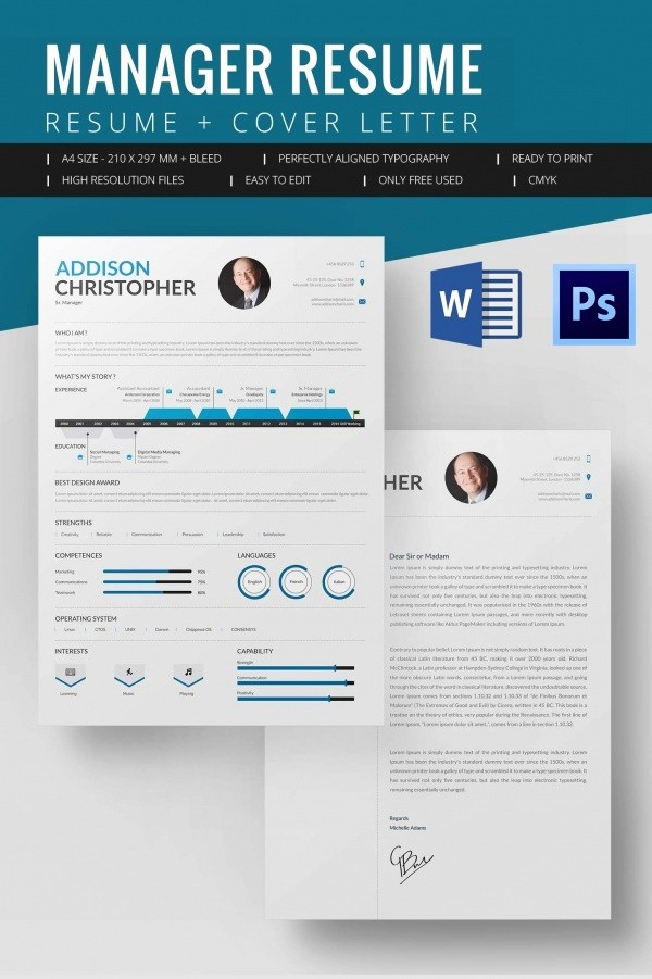 Resume Template Download Word Free Beautiful Microsoft Word Resume Template – 99 Free Samples
