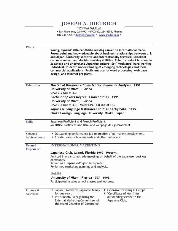 Resume Template Download Word Free Elegant Free Resume Template Downloads Beepmunk