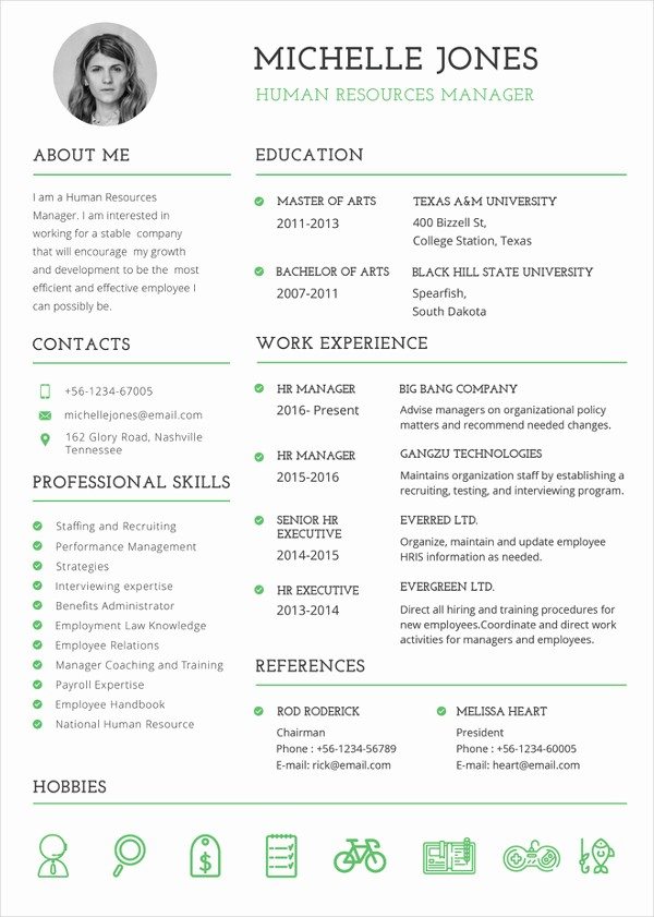 Resume Template Download Word Free Unique 26 Word Professional Resume Template Free Download