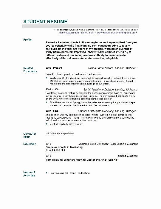 Resume Template for New Graduates Unique Cology Nurse Resume format Umecareer