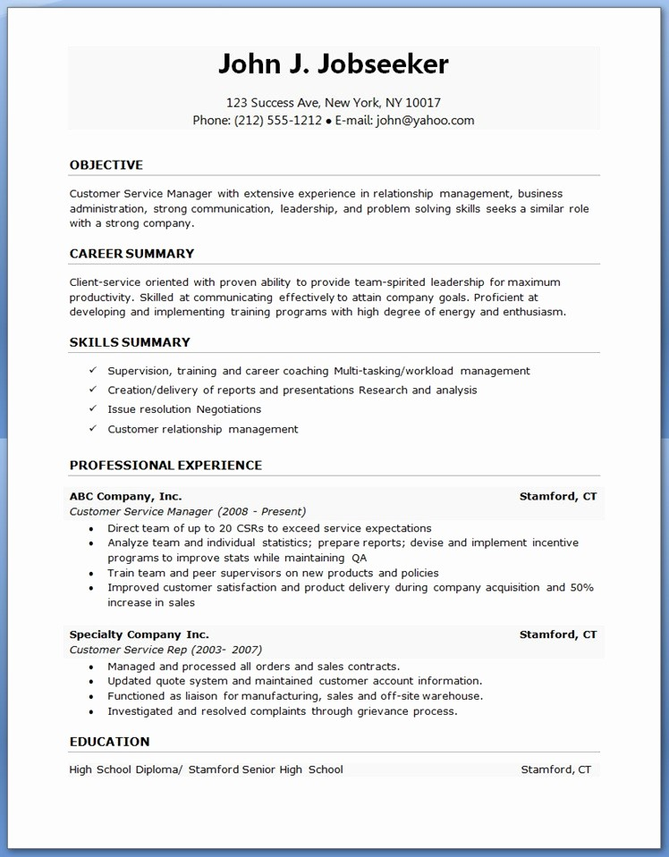 Resume Template Free Download Word Beautiful 20 Cv Template Word