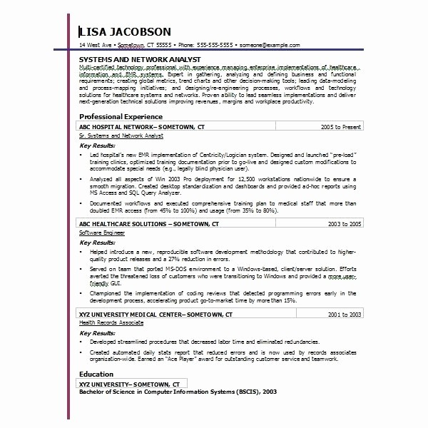 Resume Template Microsoft Word 2007 Awesome Microsoft Fice 2007 Resume Templates