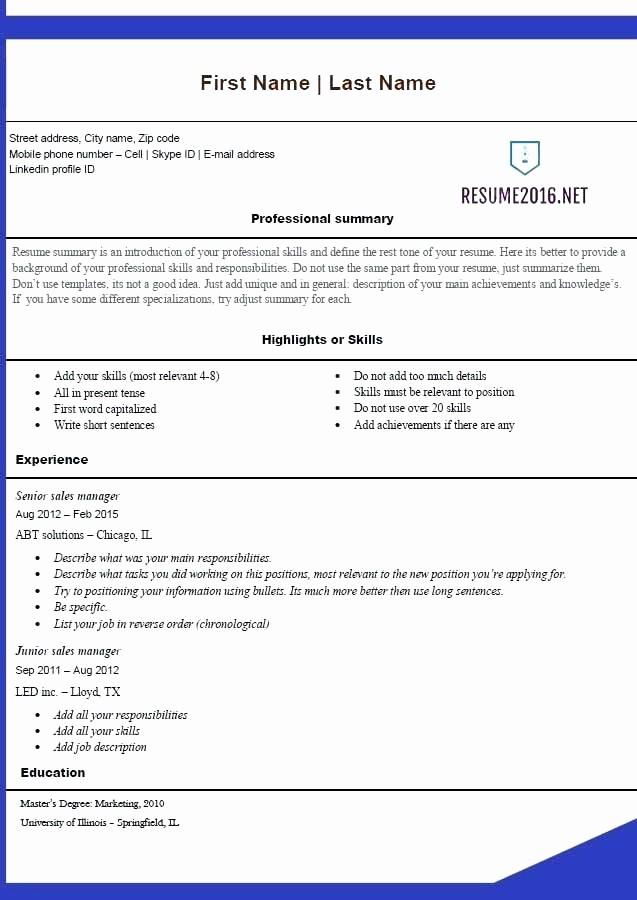 Resume Template Microsoft Word 2007 Luxury Resume Template Microsoft Word Download Free Resume