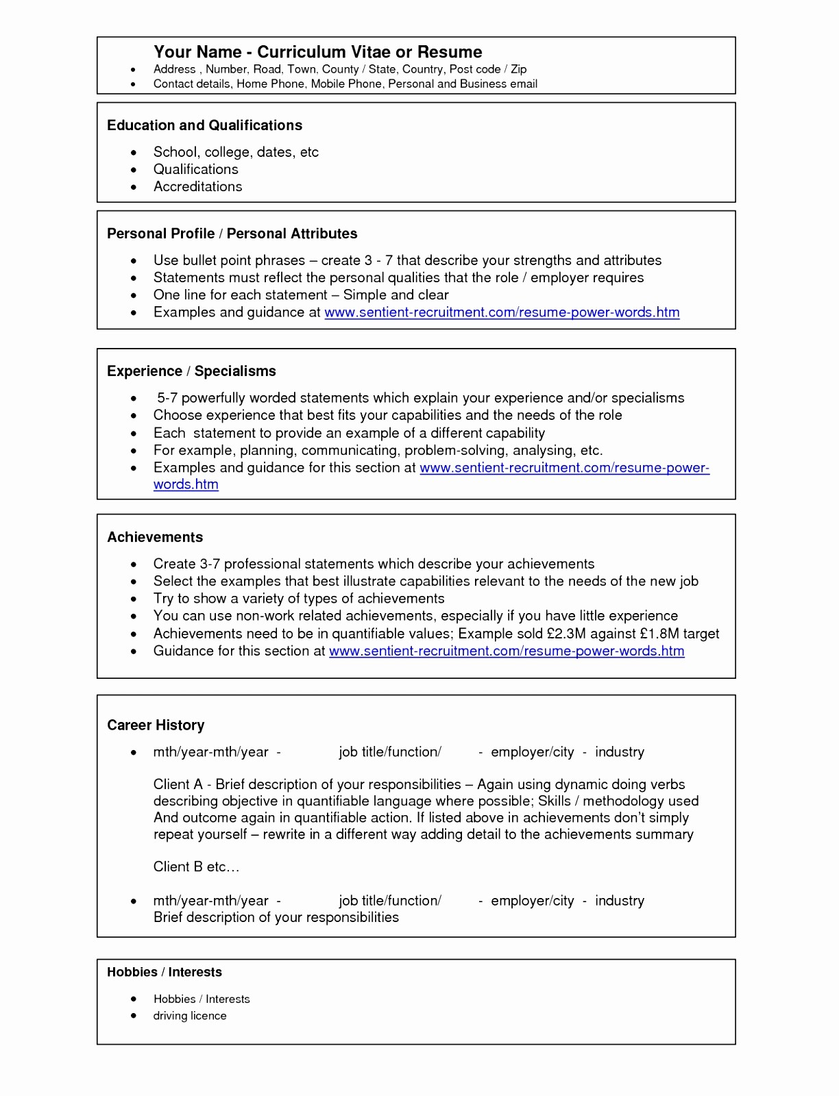 Resume Template Ms Word 2010 Awesome 9 Cv Templates Word 2010 Uaopt