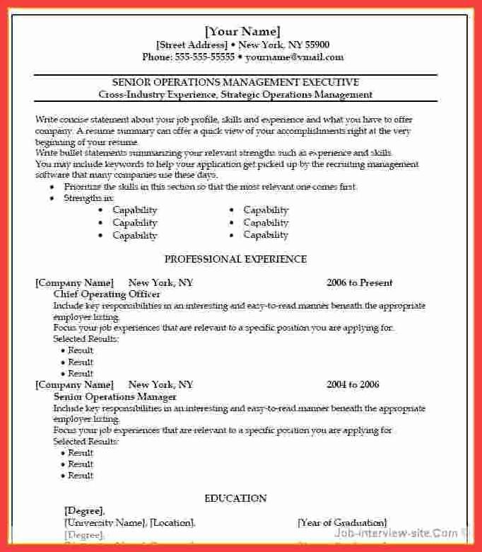 Resume Template Ms Word 2010 Luxury Resume Microsoft Word 2010