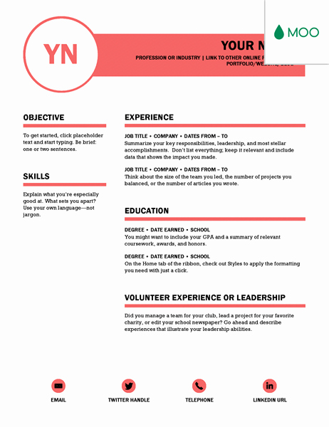 Resume Template On Microsoft Word New 15 Jaw Dropping Microsoft Word Cv Templates Free to Download