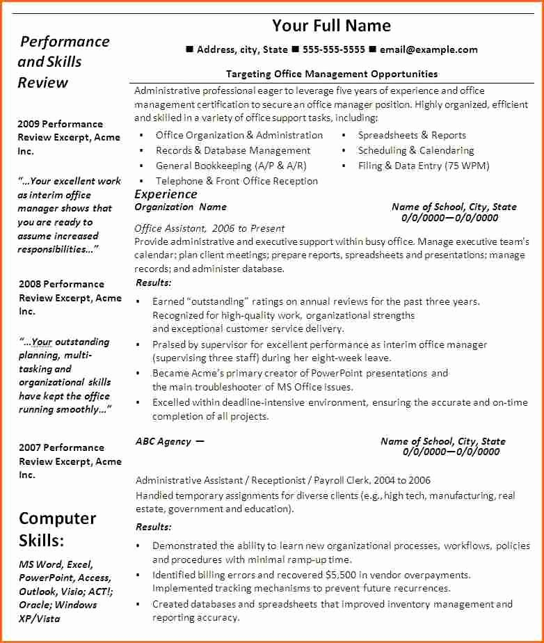 Resume Template On Word 2007 Fresh 13 Microsoft Word 2007 Resume Templates Bud Template