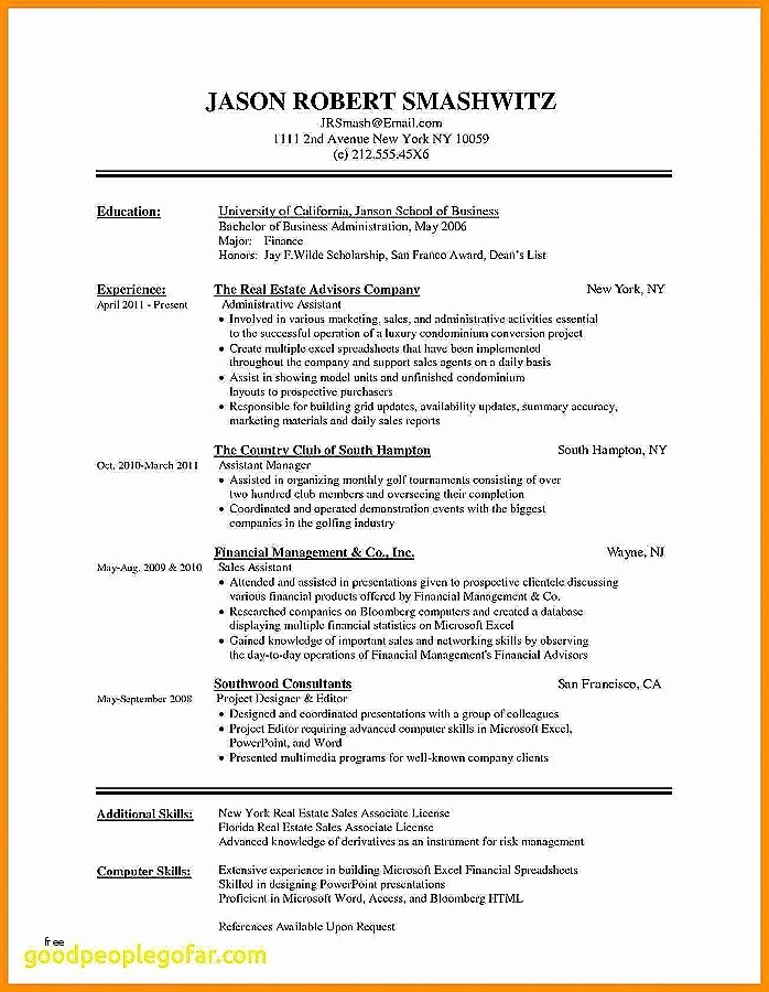 Resume Template On Word 2007 Inspirational Free Resume Templates Microsoft Word 2007