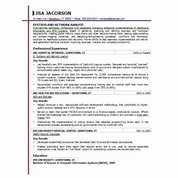 Resume Templates Download Microsoft Word Inspirational Free Resume Templates for Microsoft Word