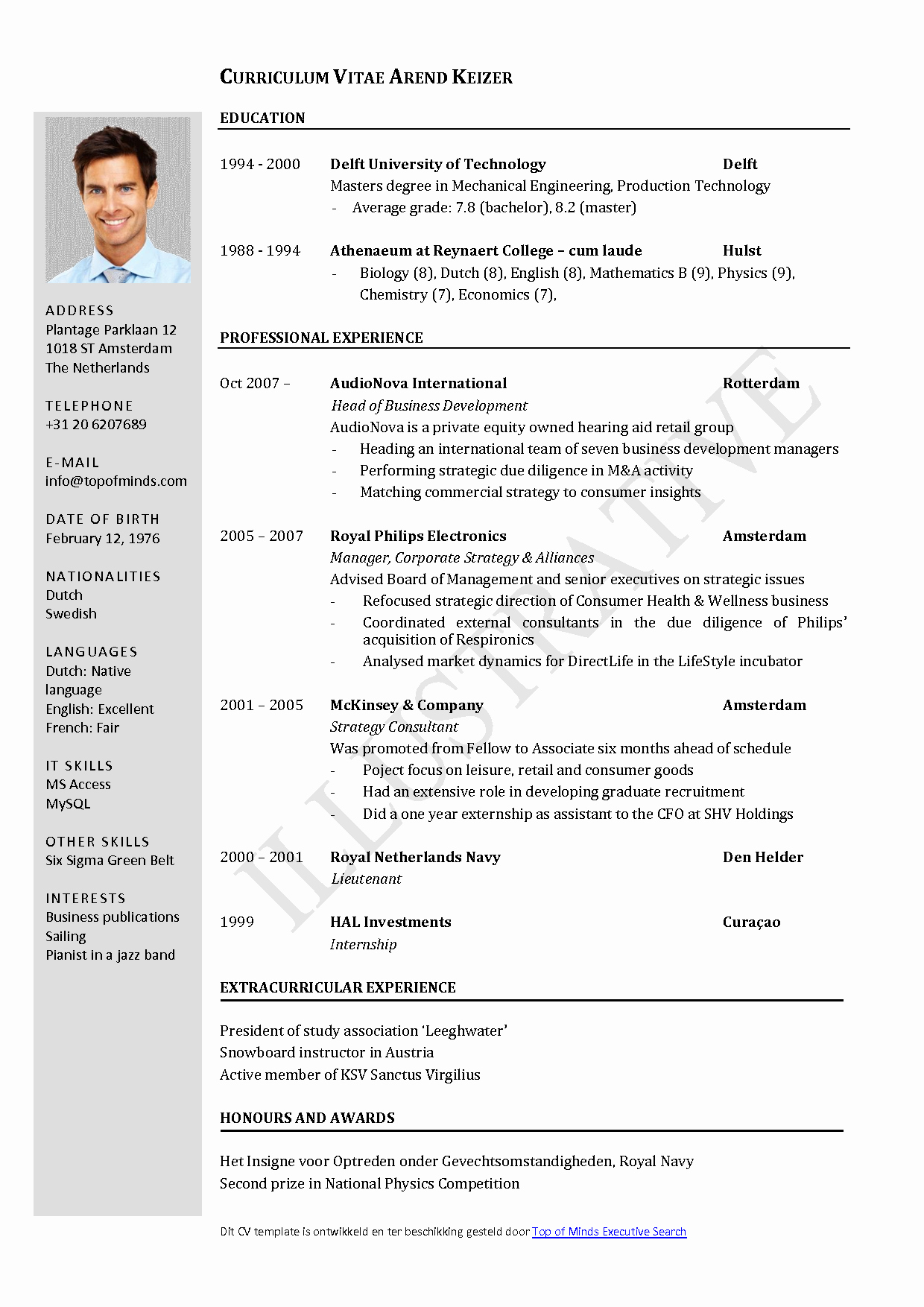 Resume Templates for Word Free Elegant Free Curriculum Vitae Template Word