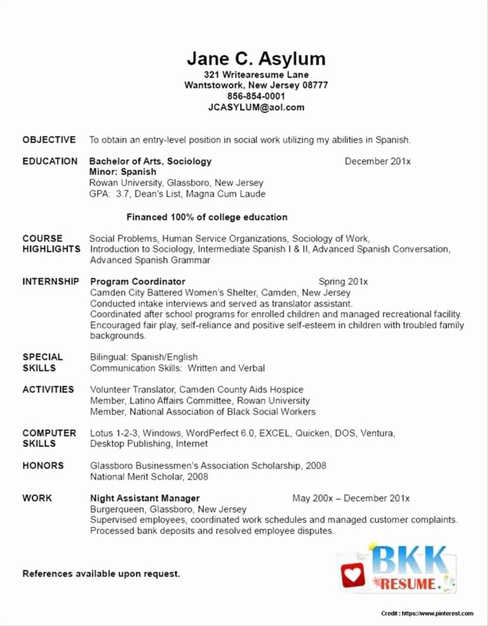 Resume Templates Free Microsoft Word New Microsoft Publisher Resume