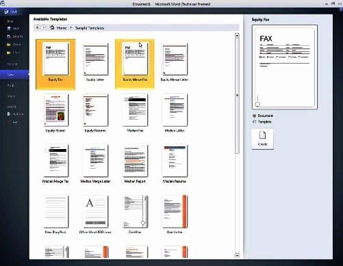 Resume Templates Microsoft Word 2010 Awesome เขียน Resume ให้ประทับใจด้วย Word 2010