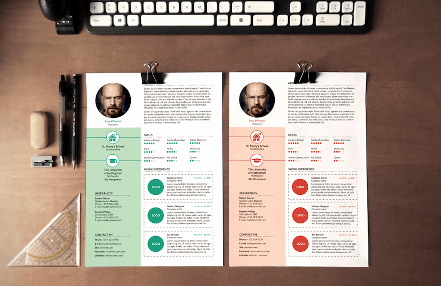 Resume Templates Microsoft Word Free Fresh 65 Eye Catching Cv Templates for Ms Word
