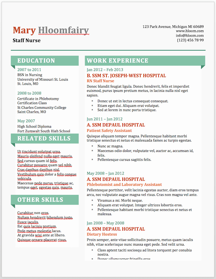 Resume Templates On Microsoft Word New 19 Free Resume Templates You Can Customize In Microsoft Word