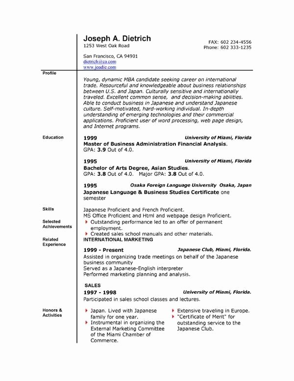 Resume Templates On Word 2007 Beautiful Resume Templates Microsoft Word 2007
