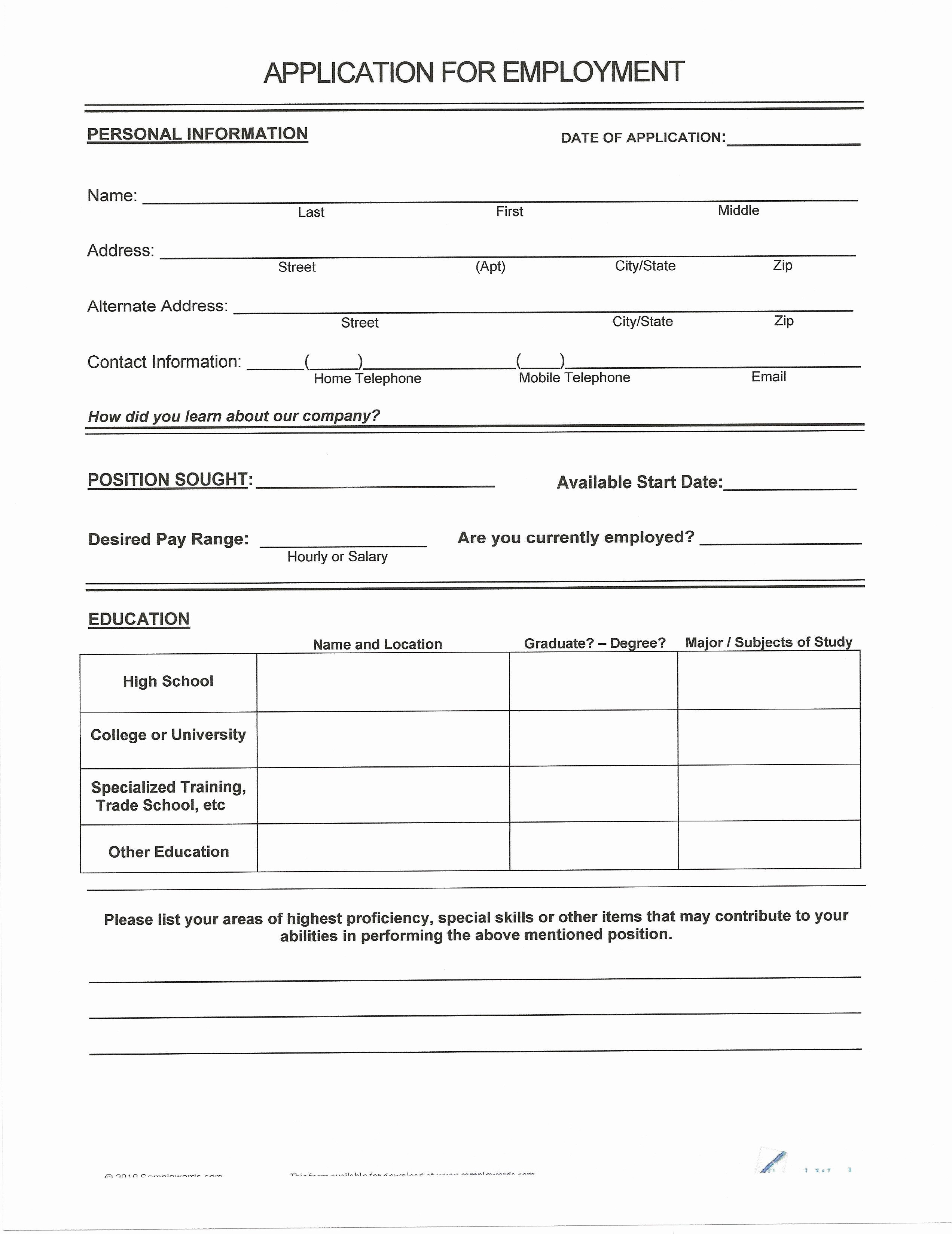 Resumes Fill In the Blanks Lovely Easy Resume Templates with Fill In the Blanks