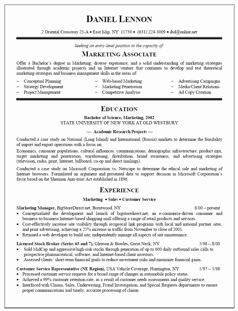 Resumes for New College Graduates Luxury Example College Graduates Resumes – Perfect Resume format