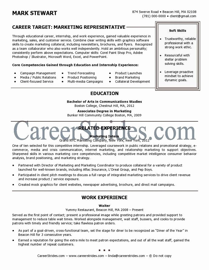 Resumes for Recent College Grads Beautiful Resume Template for Recent College Graduate Best Resume