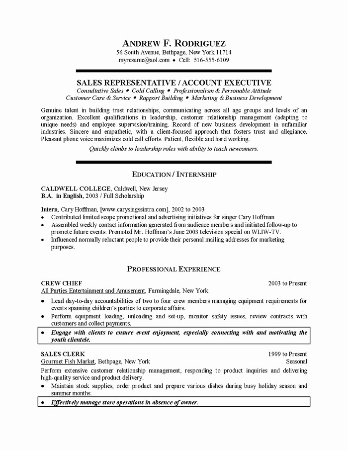 Resumes for Recent College Graduates Unique Recent Graduate Resume Sample Best Resume Collection