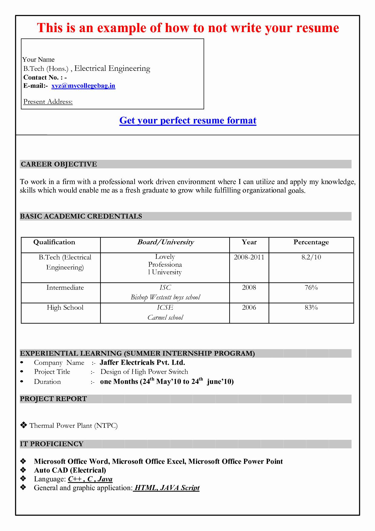Resumes On Microsoft Word 2007 Beautiful Cv Template In Microsoft Word 2007