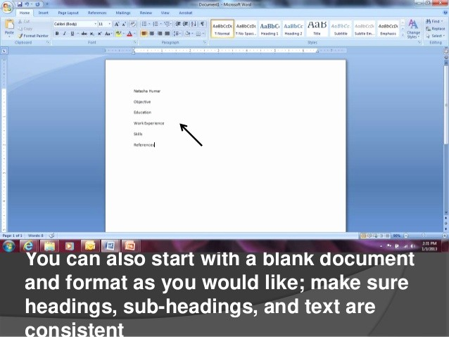 Resumes On Microsoft Word 2007 Unique Creating Resumes In Microsoft Word 2007
