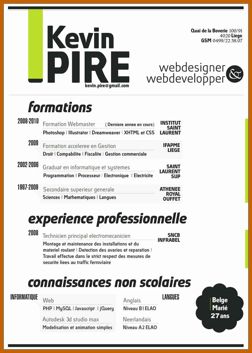 Resumes On Microsoft Word 2010 Awesome 5 6 Resume Templates Ms Word 2010