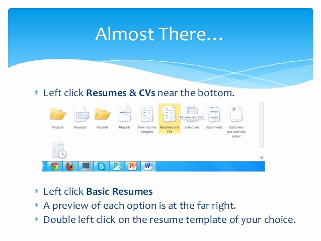 Resumes On Microsoft Word 2010 Inspirational Creating A Resume Using Microsoft Word 2010