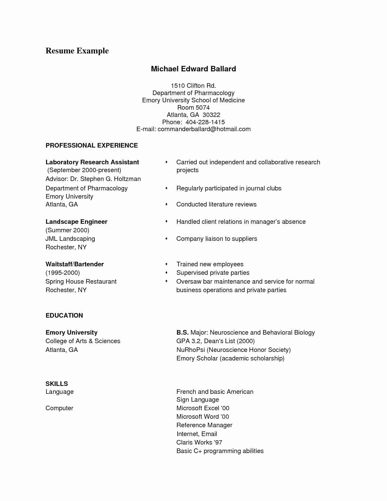 Resumes On Microsoft Word 2010 Lovely How to Do A Resume Microsoft Word 2010