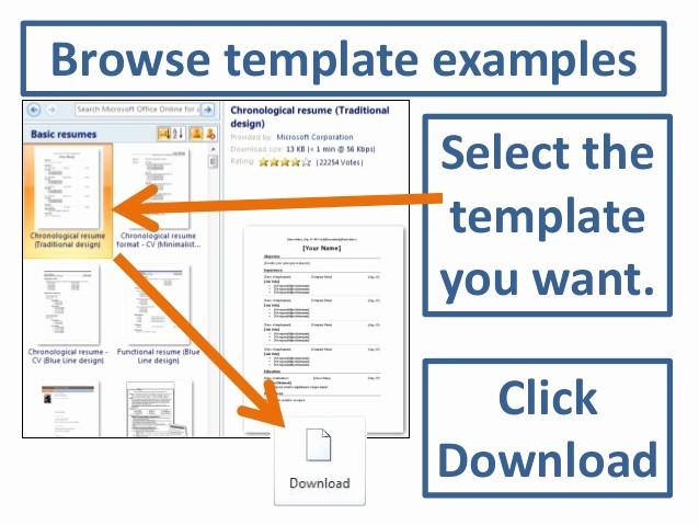 Resumes On Microsoft Word 2010 New Accessing Resume Templates In Word 2010