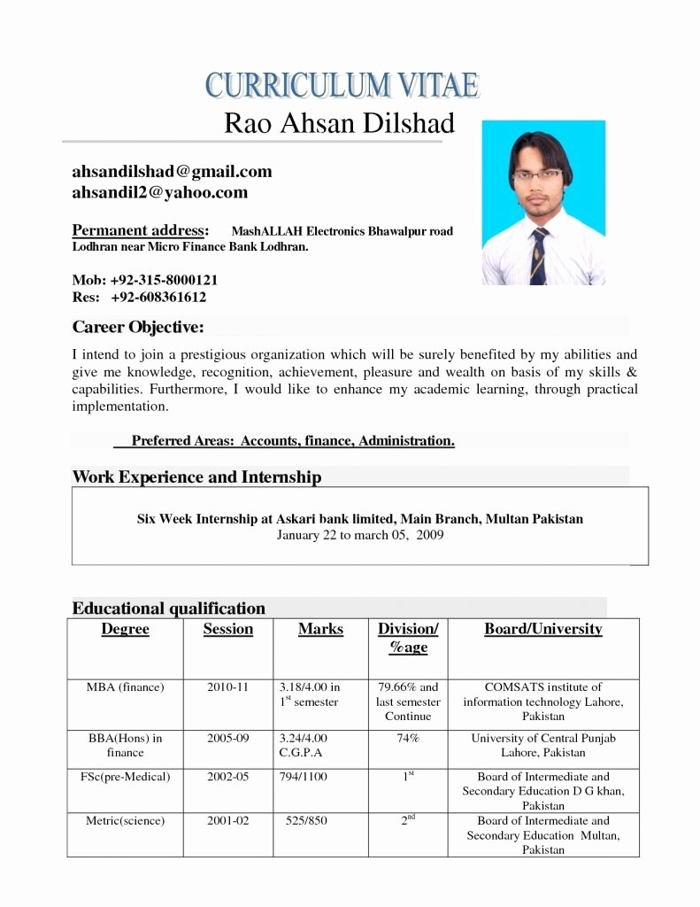 Resumes On Microsoft Word 2010 Unique Free Downloadable Resume Templates for Word 2010